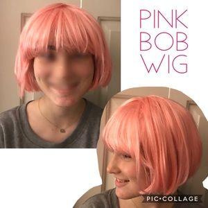 🎀 Pink Bob Wig 100% Toyokalon Wig 🎀